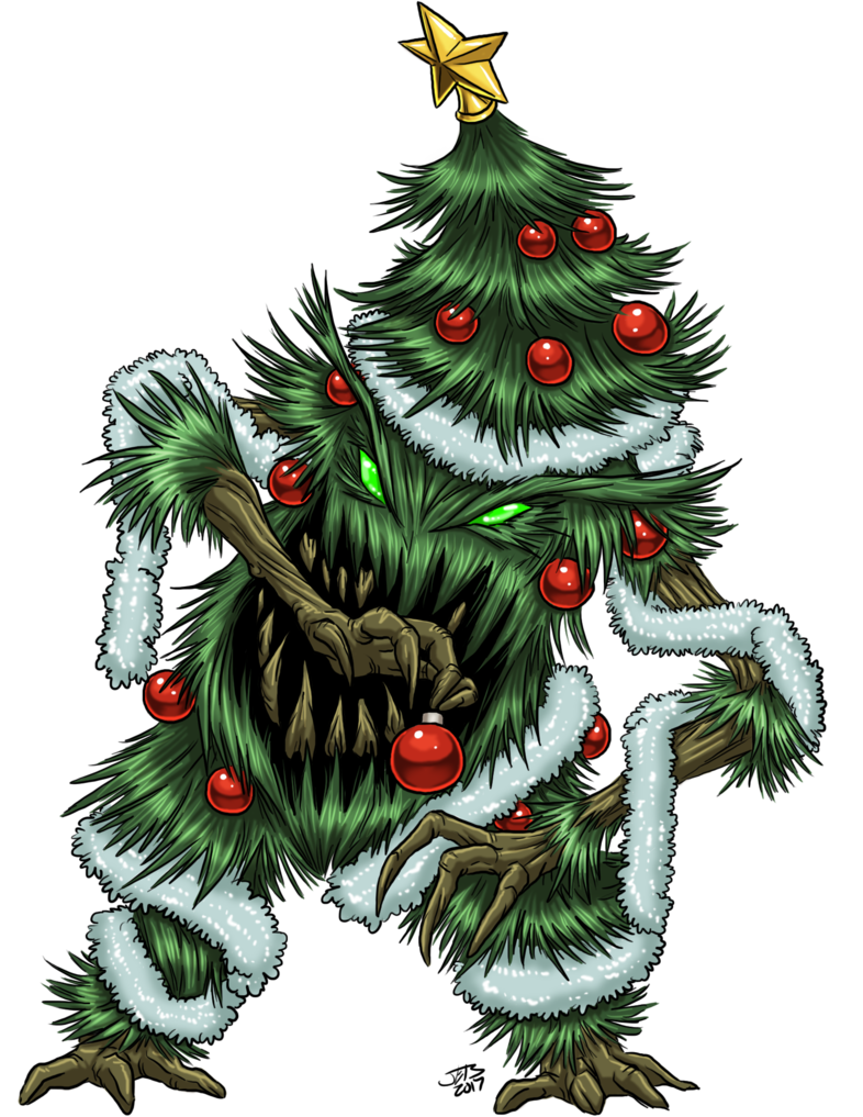 Yuletide Tree Monster by on