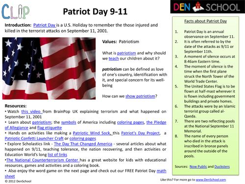 Free Patriot Day 9/11 Activities and Printables | AMERICA ...