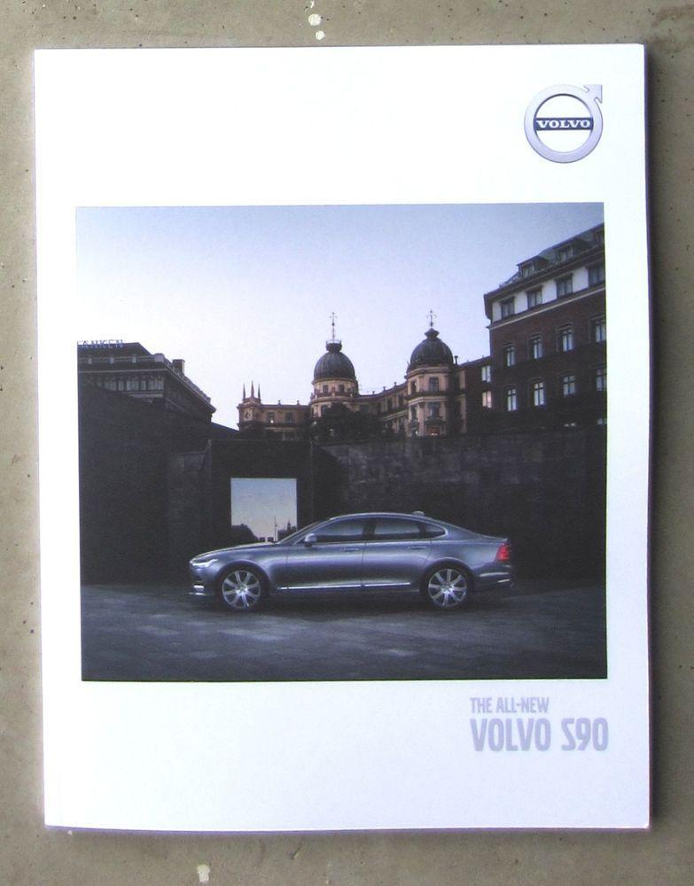 VOLVO S90 2016 genuine sales brochure book like new 20 TURBO - sales brochure