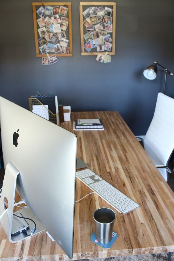 Diy Butcher Block Desk Home Office Butcher Block Desk Diy