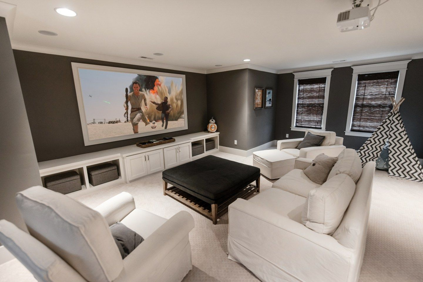 Creating A Home Theater In Your Personal On Budget Basement Wiring Room