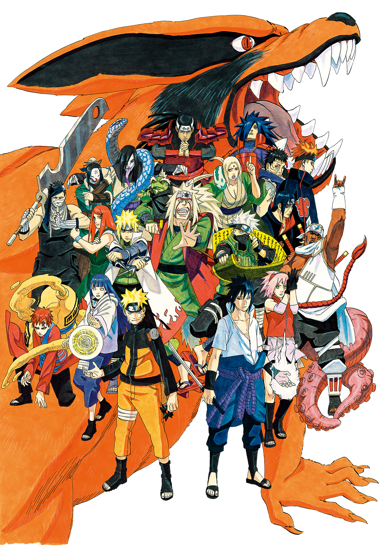 All Character Naruto Png