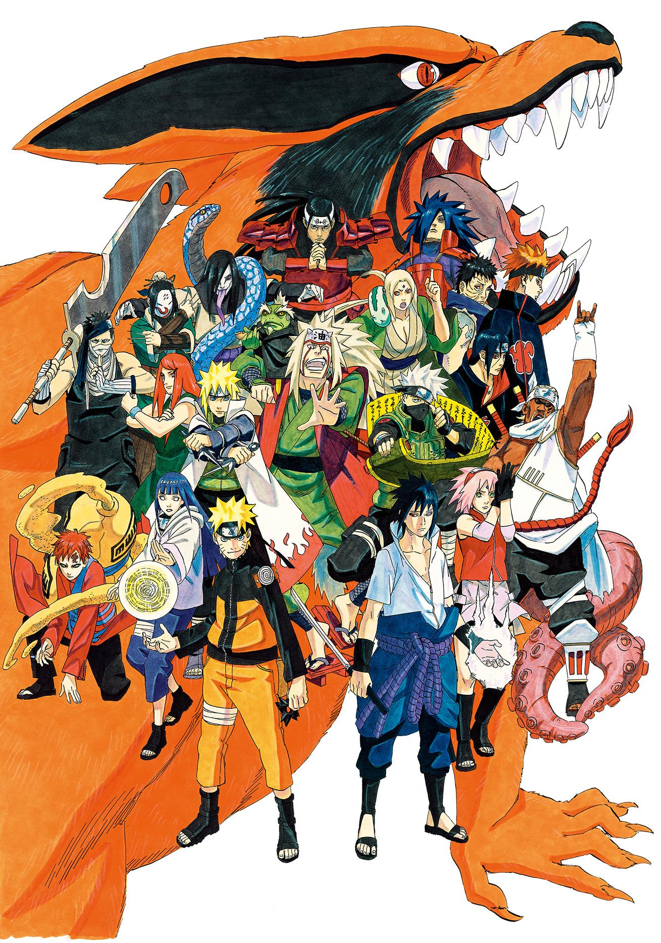 Naruto series narutopedia wikia