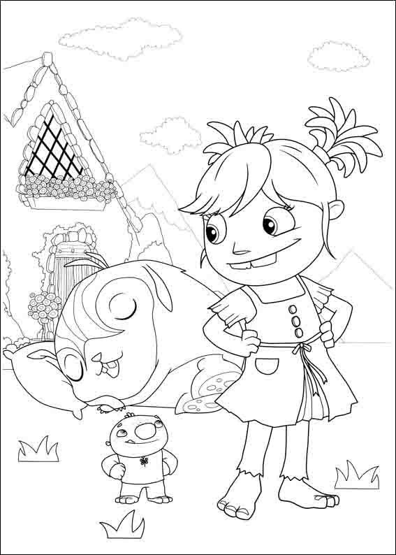 Wallykazam Coloring Pages 17 | Eli bday | Pinterest | Birthdays and ...