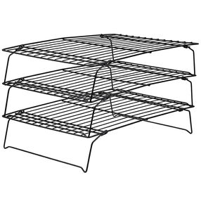 Recipe Right Non Stick Cooling Rack 3 Tier Cooling Racks Small
