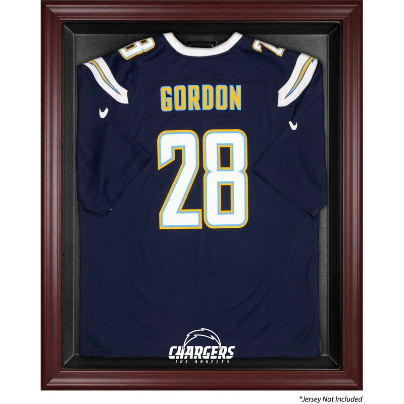 Los Angeles Chargers Fanatics Authentic Mahogany Frame Jersey ...