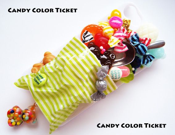 CANDY COLOR TICKET/スイーツデコアート