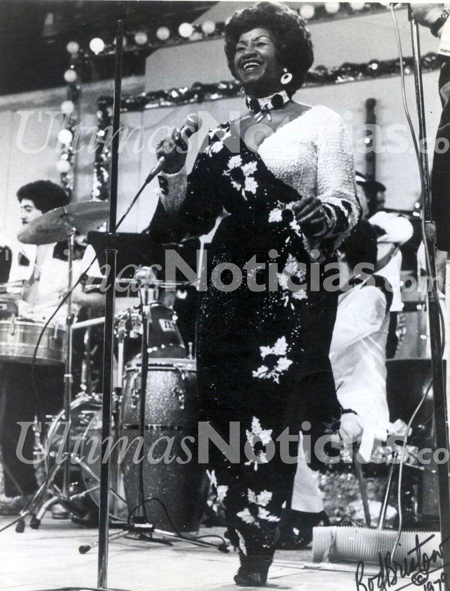 En 2003, murió la cantante cubana Celia Cruz. Foto: Archivo Fotográfico/Grupo Últimas Noticias