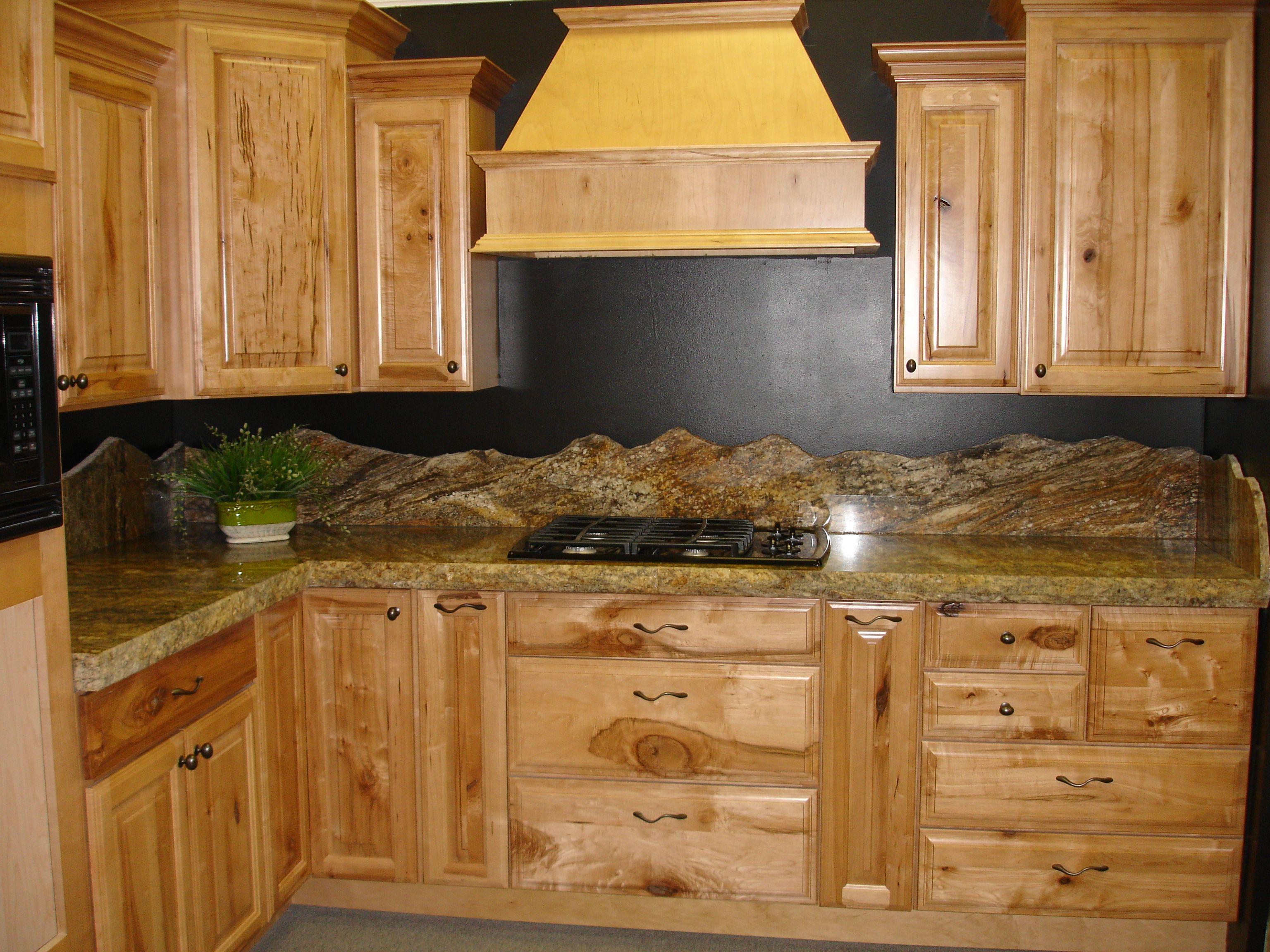 Backsplash Mountain Silhouette Granite Counter Tops And