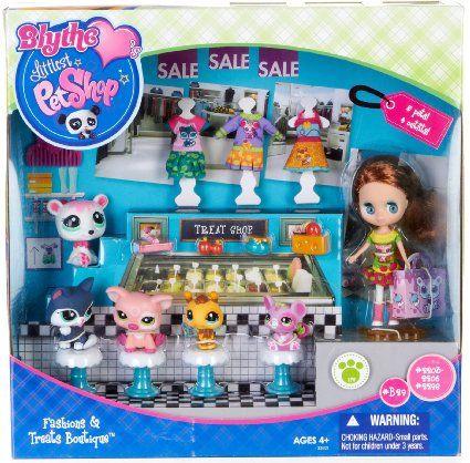 Amazon Com Littlest Pet Shop Blythe Treat Shop Fashion Doll
