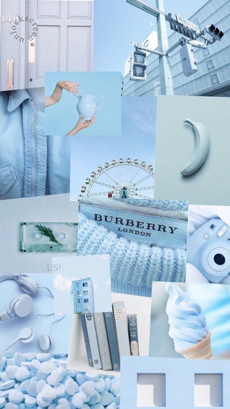 Aesthetic Pictures Pastel Blue