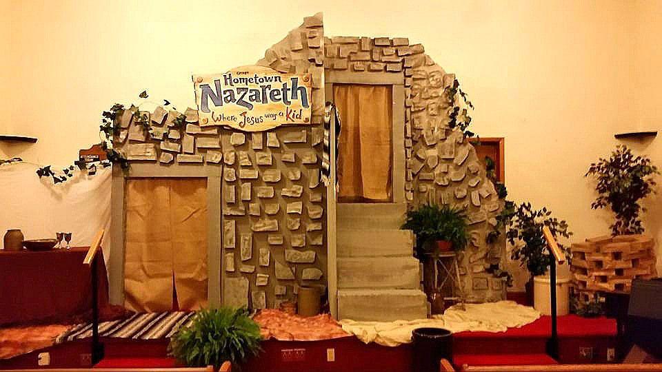 Hometown Nazareth Vbs A Small Church S Version
