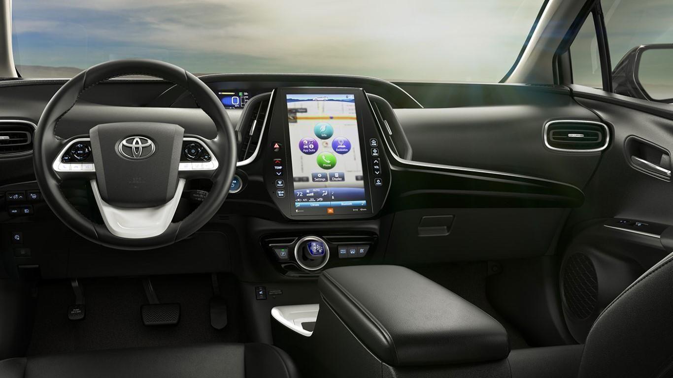 2019 Toyota Prius V Interior Auto Magz Auto Magz Regarding 2019 Toyota Prius Interior Exterior And R Toyota Prius Toyota Prius Prime Toyota Prius Interior