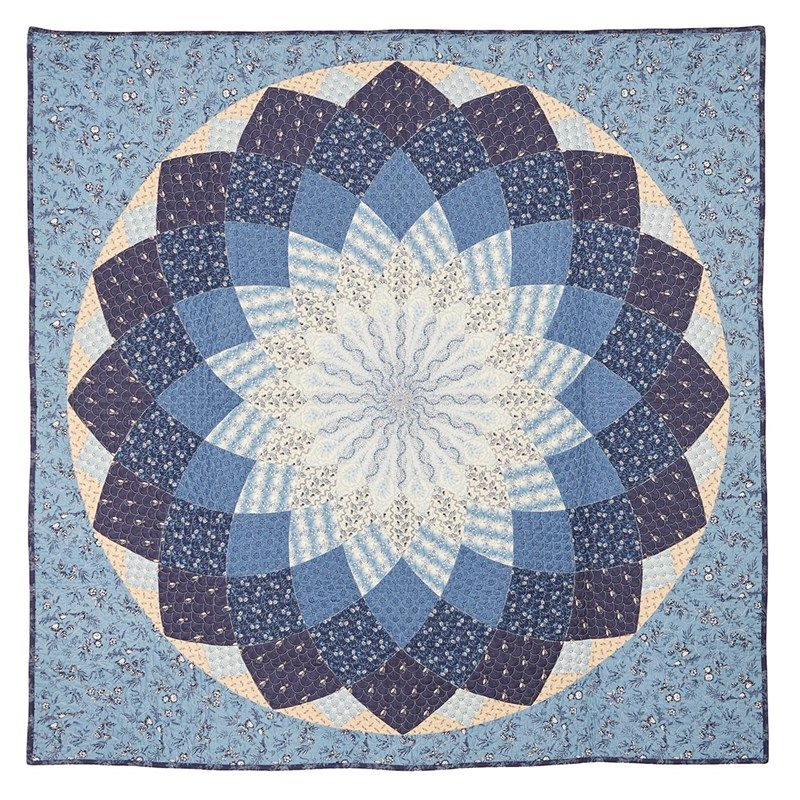 Nice Today, Weu0027re Going To Teach You How To Make A Giant Dahlia Quilt Pattern  Free . This Quilt Is One Of The Most Requested By Simple.