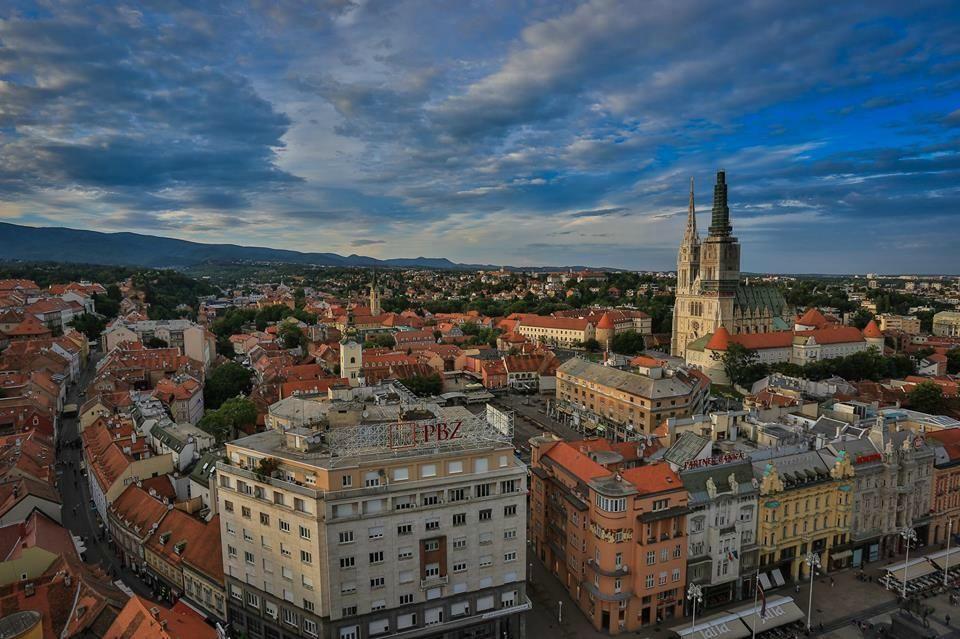 Zagreb Eye Zagreb Croatia Zagreb Croatia