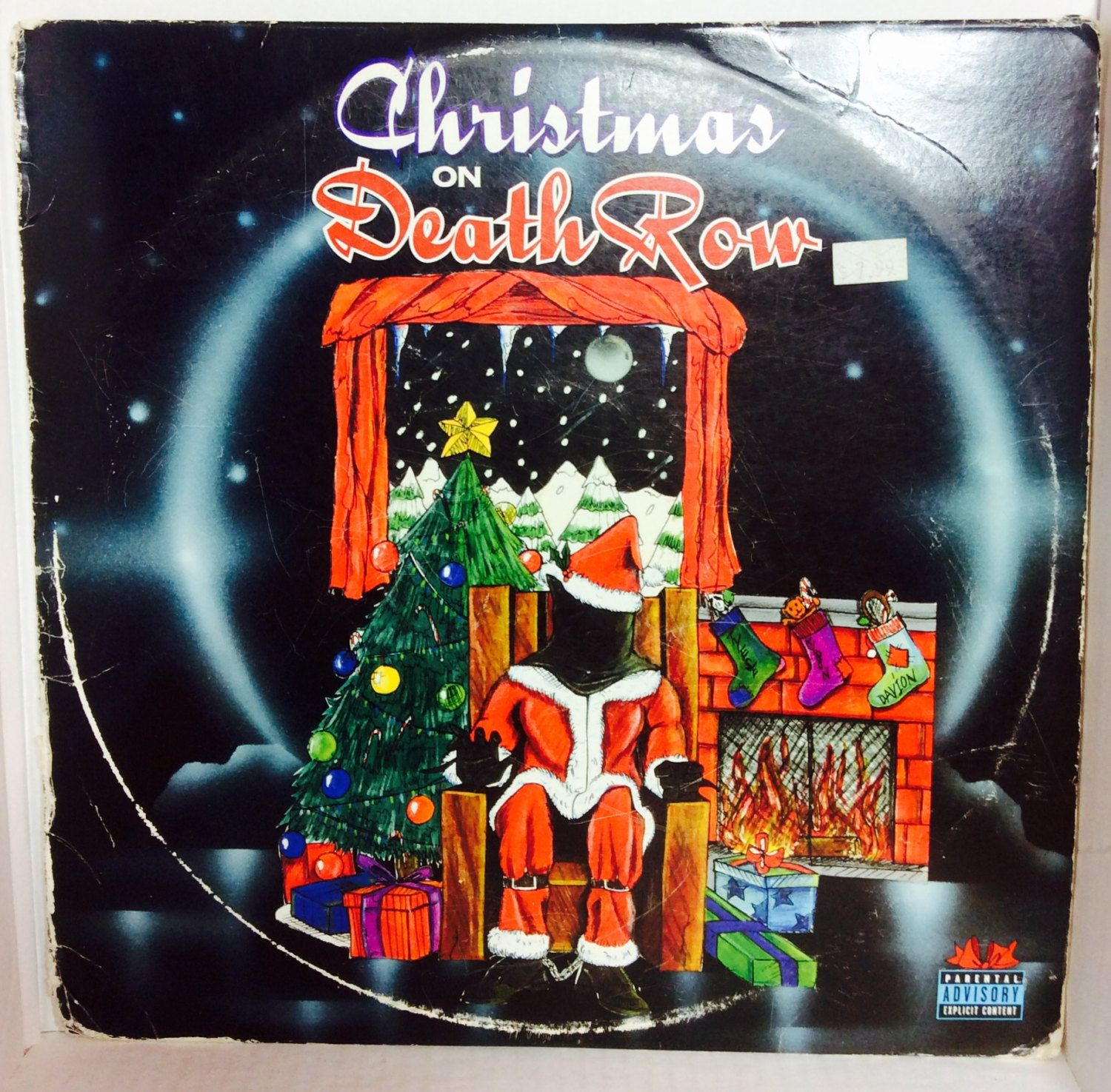 christmas on death row vintage holiday record