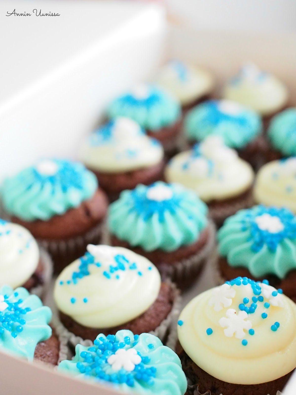 Mint Chocoalte Cupcakes