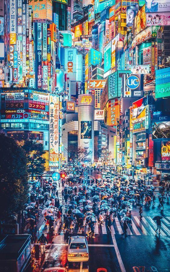 15 Truly Astounding Places To Visit In Japan - Travel Den #japan Shibuya, Tokyo ...