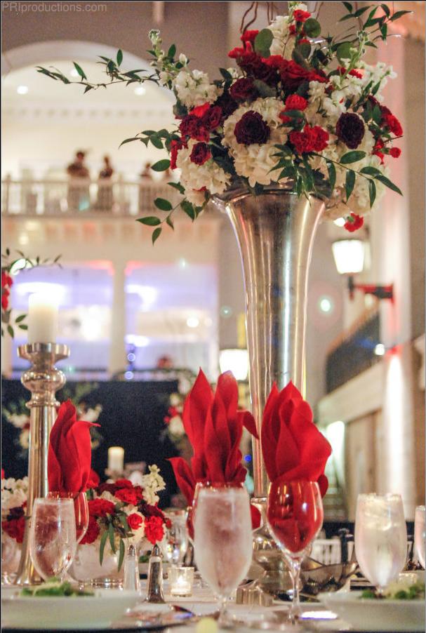 Jacksonville Fl Florist Gala Decorations Gala Centerpieces