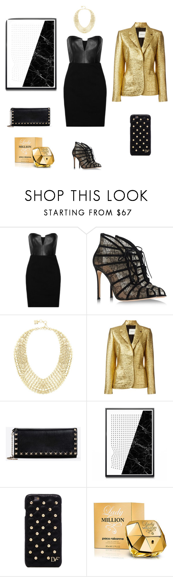 """Untitled #125"" by sanjati ❤ liked on Polyvore featuring Mason by Michelle Mason, Gianvito Rossi, BCBGMAXAZRIA, Lanvin, Valentino, Diane Von Furstenberg, Paco Rabanne, women's clothing, women's fashion and women"