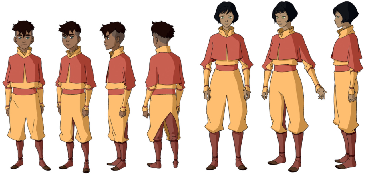avatar character sheet bend it like korra | avatar the last airbender art, avatar