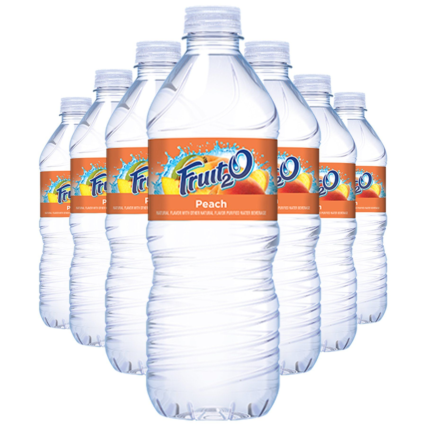 Fruit2o Peach Flavored Water 16 9 Oz Plastic Bottles 12 Pack Click Image For More Details This Is An Affiliate Flavored Water Polar Bottle Plastic Bottles