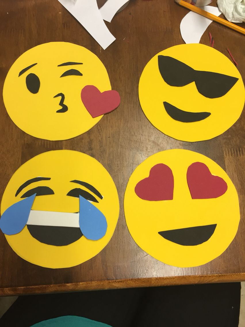 Diy emoji decoration