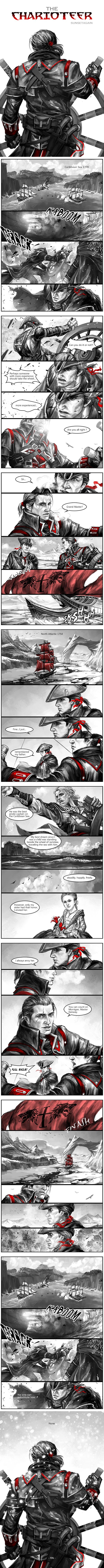 【Headcanon】Shipwreck of Morrigan Dialogue modified from the movie TITANICJoin the Templar, Master Kenway, was the best thing that ever happened to me… it brought me to you. And ...