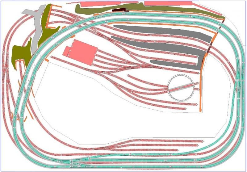 Pin by Martin Paton on Model Railway track plans | Model