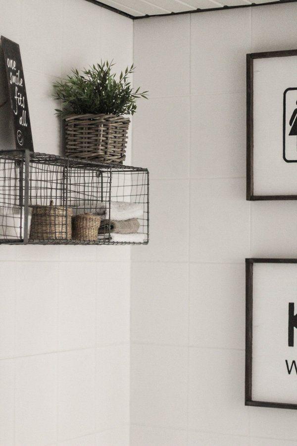 Die schönsten Badezimmer Deko Ideen Pinterest