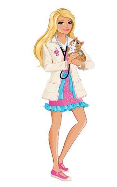 Barbie veterinria  Barbie  Pinterest  Barbie Barbie house and