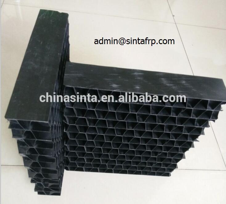 65 125 130mm Height Drift Eliminator Set Pvc For Compressor Cooling Tower Pvc Drift Eliminator Cooling Tower Tower 65th
