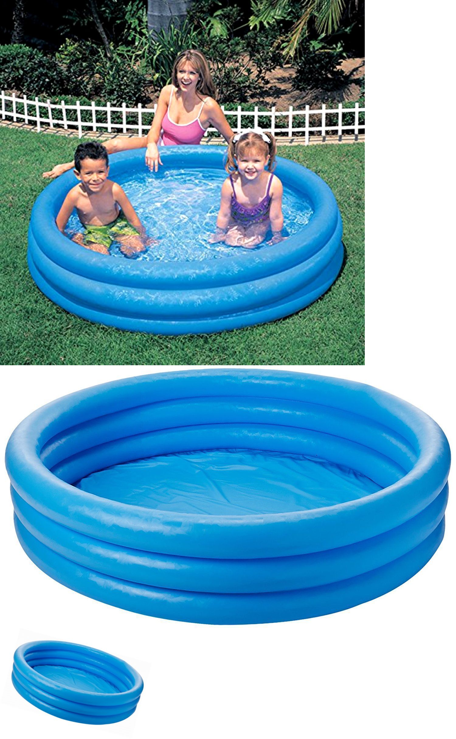 Inflatable and Kid Pools 116407: Intex Inflatable Pool 45 X ...