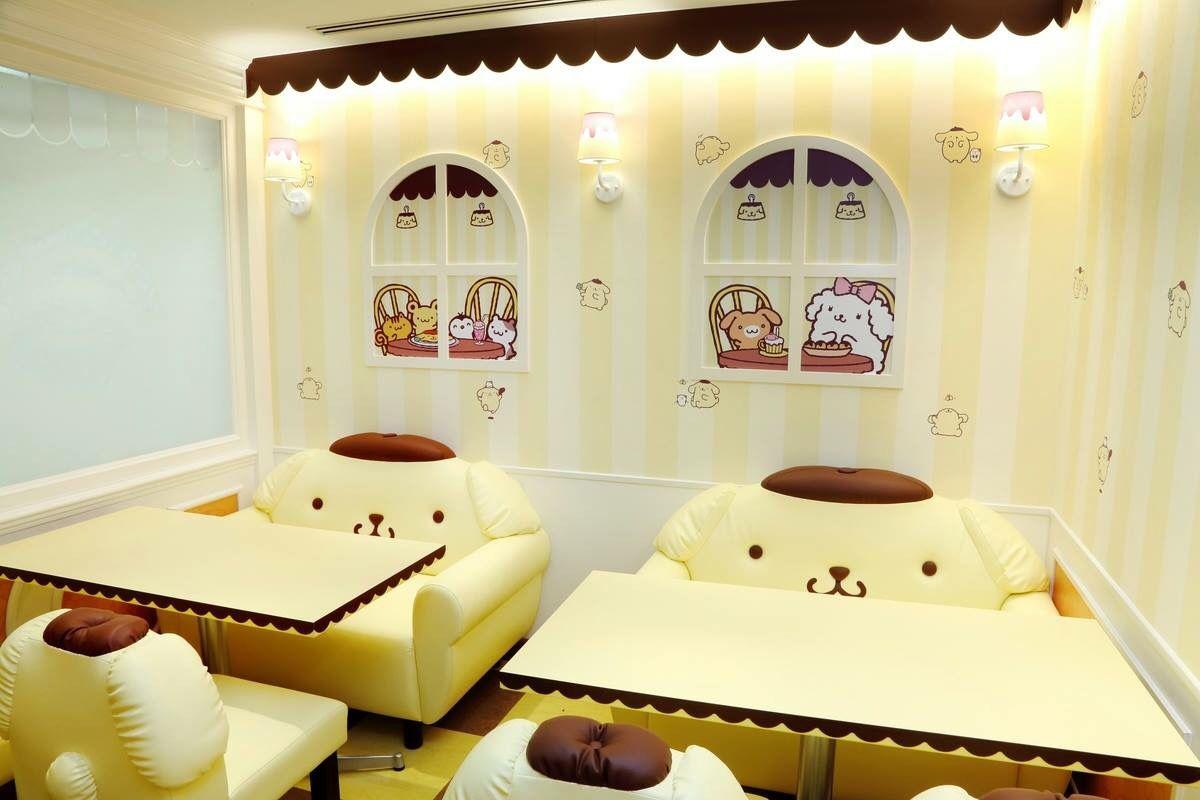 Kawaii Pom Pom Purin Caf 233 In Osaka Japan 180 ノ Sanrio