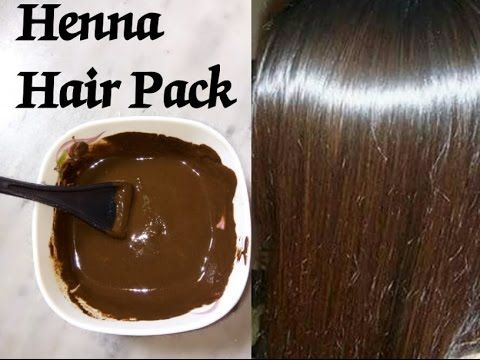 Mehndi For The Hair : Henna mehndi hair pack super soft shiny silky glossy