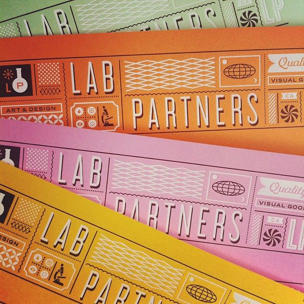 white foil on business cards | Lab-Partners, via Flickr