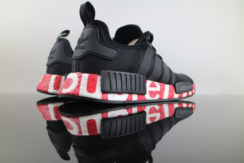 ec21acd3643f3 Authentic Adidas NMD XR1 R1 Real Boost Joint Black BG1868 Women and Men  Shoes for Online Sale 07