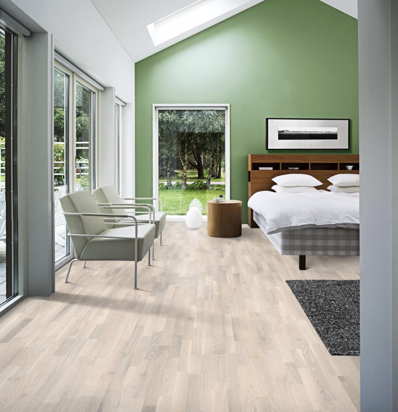 PALE Kährs Engineered wood floors, White oak floors