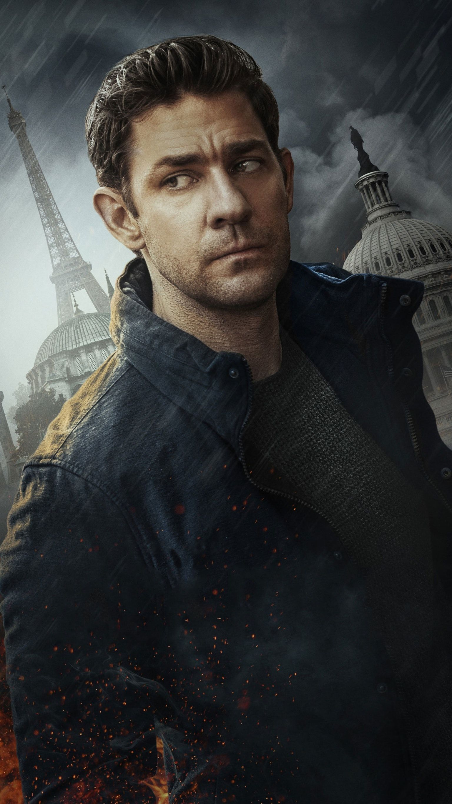 Tom Clancy S Jack Ryan Phone Wallpaper Moviemania John krasinski tom clancys jack ryan