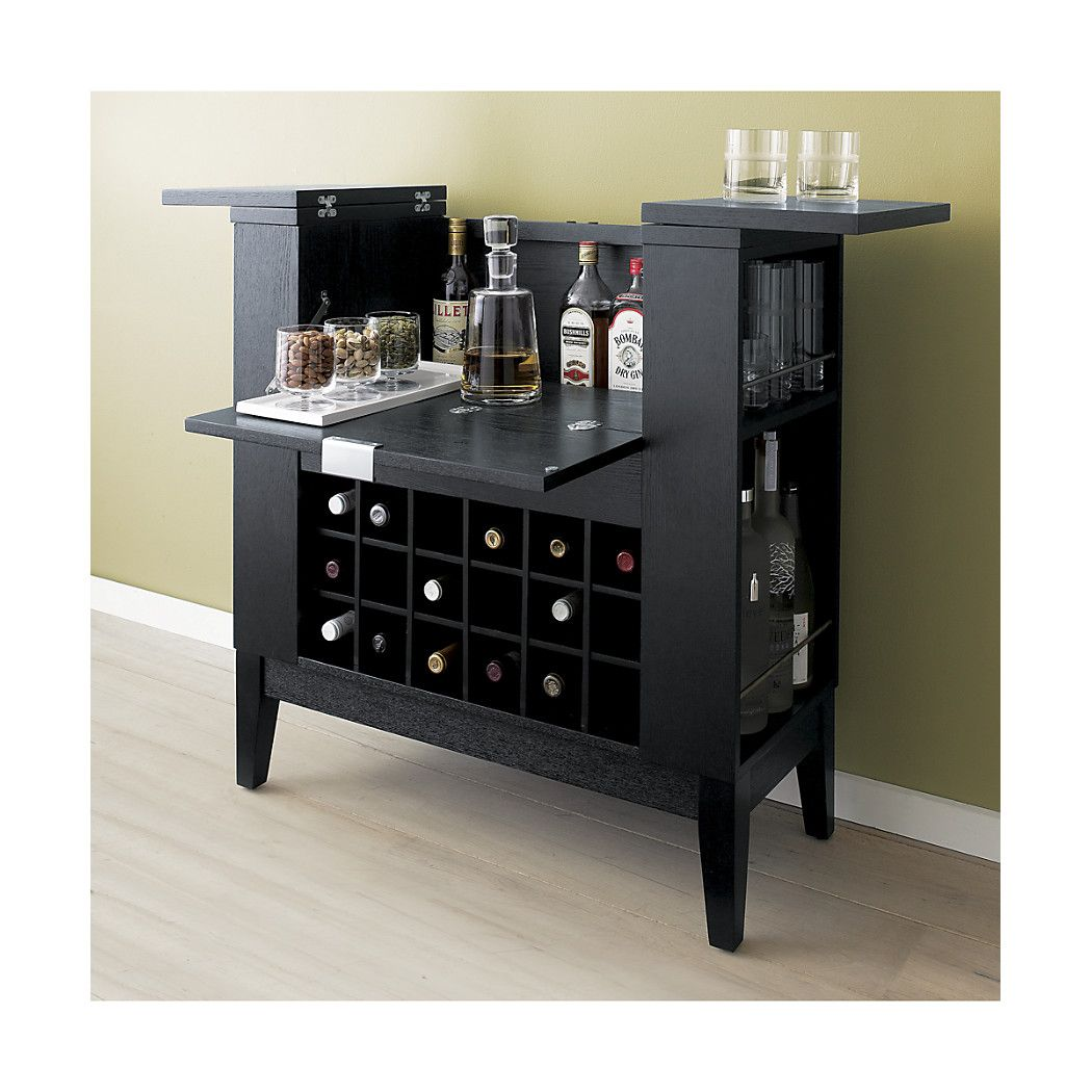 Serve Your Guests In Style With A Bar Cabinet From Crate And Barrel Carts
