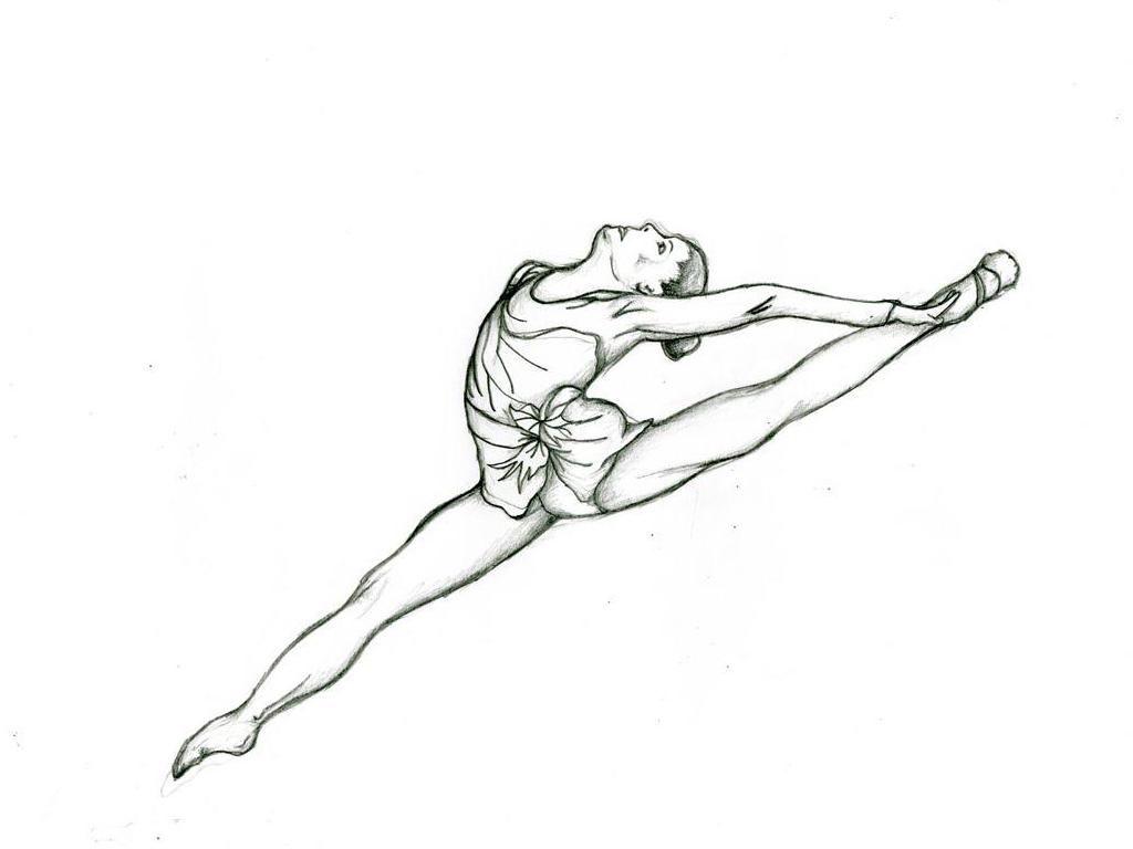 Gymnastics Coloring Pages 07 Gymnastics Coloring Pinterest