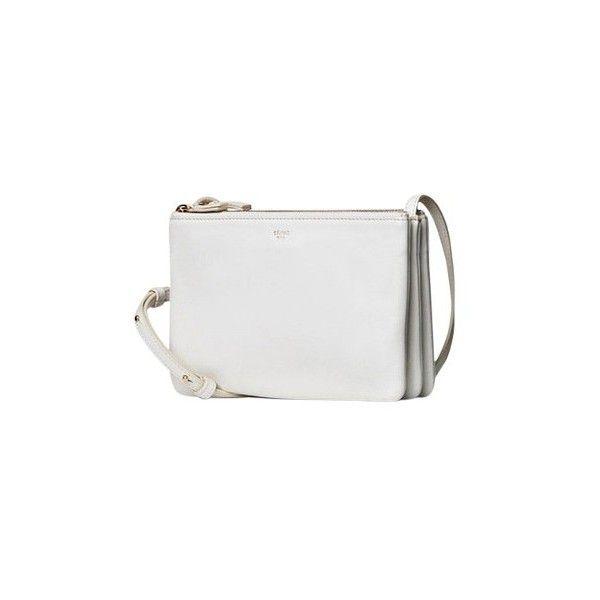 Céline Small Trio Lambskin Leather Rare Whitle Cross Body Bag ... 4d5cca4b347e0