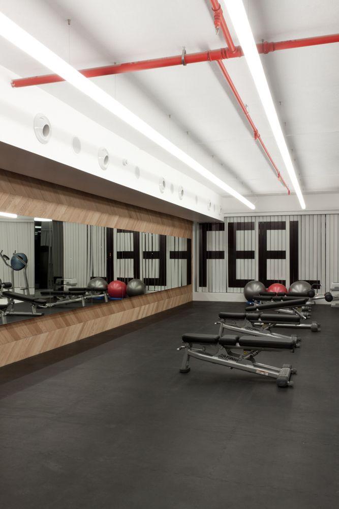 Rush Woman Gym 05 Home Gym Design Gym Interior Gym Design Interior