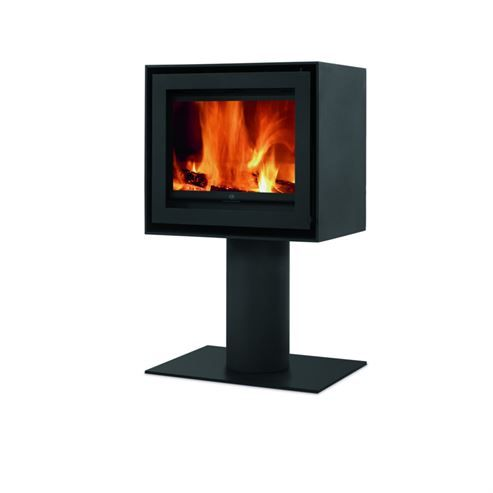 NEW BRAND FOR 2014/15 Fogo Montanha - Premium Insets and Freestanding Woodburning Stoves - Versatile S600 Round Pedestal
