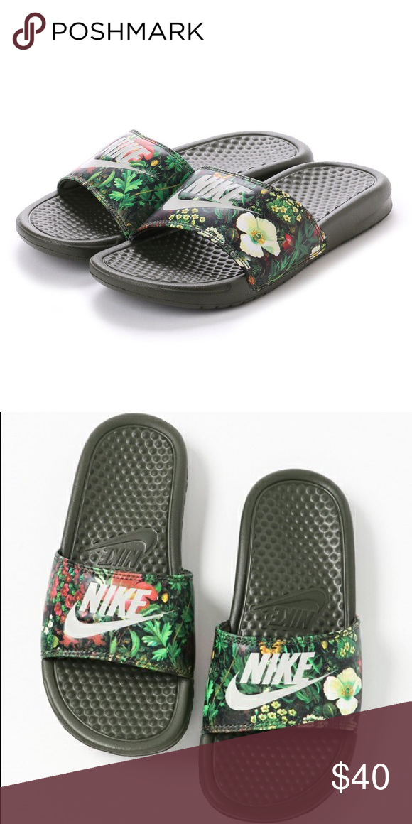 best cheap 9ba02 d3c33 Women's Benassi Nike Slides Brand new Nike Shoes | My Posh ...