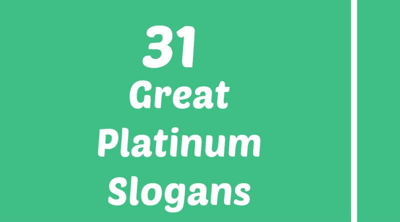 Platinum Slogans Element Slogans Pinterest Slogan Movies And
