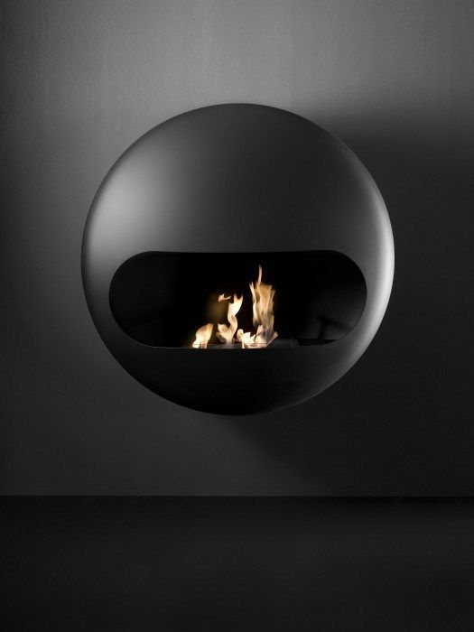 Wall Mounted Carbon Steel Fireplace Bb I Antrax It