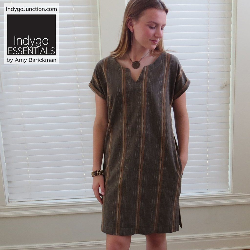 98ff0e3da0 Indygo Essentials - Shift Dress Pattern