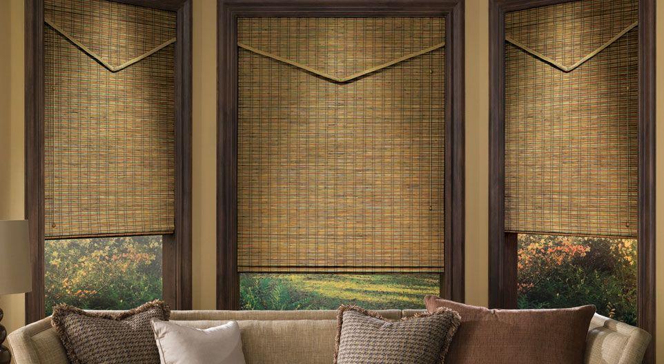 Provenance Woven Wood Shades Hunter Douglas Window Treatments