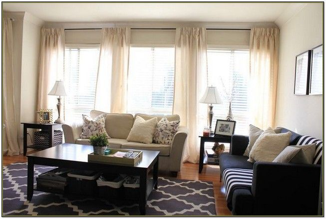 window treatments for 3 windows in
